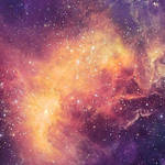 I sleep among the stars and dream in space