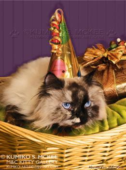 Birthday Kitty Chibi