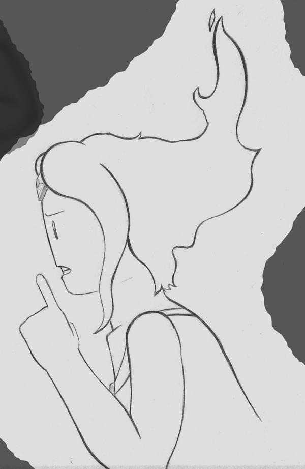 Shhhh! FP Doodle by Sketchecitos