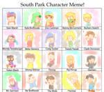 south park character meme