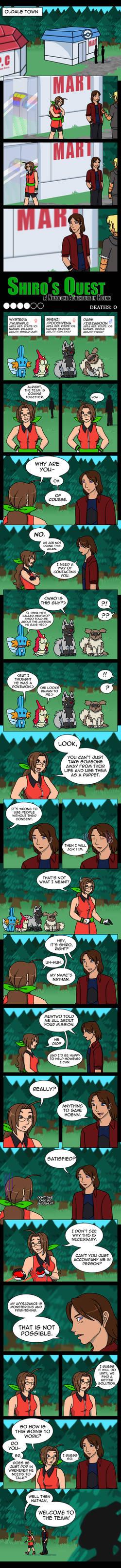 Shiro's Quest, part 03: Follow Me