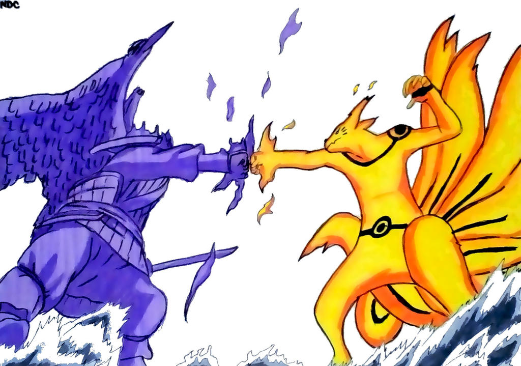 PERFECT SUSANOO VS KURAMA MODE by NarutoDrawingChannel on DeviantArt