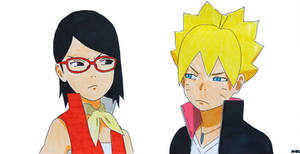 Boruto Next Generations OP 1 KANA BOON Baton Road by