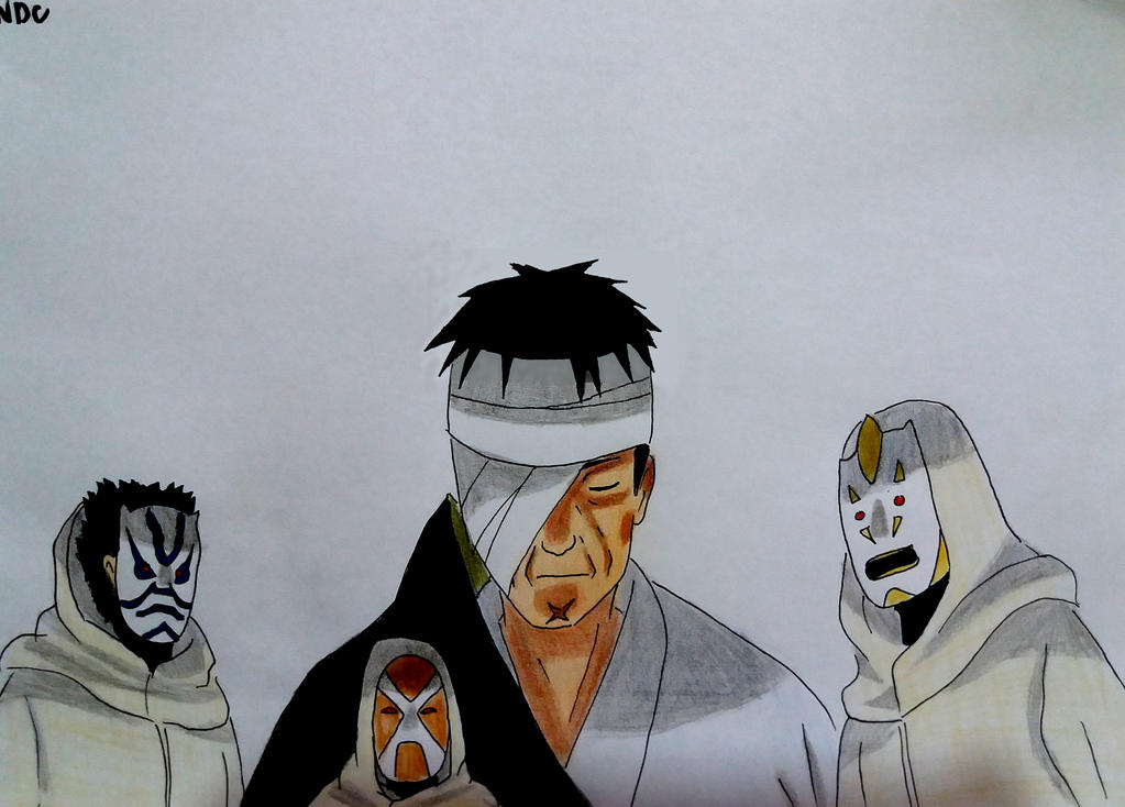DANZO AND THE FOUNDATION by NarutoDrawingChannel on DeviantArt