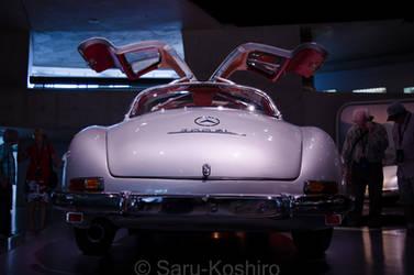 Mercedes 300 SL - Mercedes Museum by Saru-Koshiro