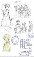 SketchDump by Shaeiira