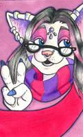 Dk' Conbadge colored by dani-kitty