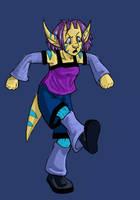 Klim Stomp - Colored by dani-kitty