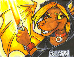 Conbadge -- Darth Rahsyk by dani-kitty