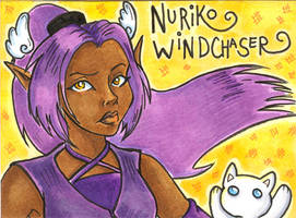 Conbadge -- Nuriko Windchaser by dani-kitty