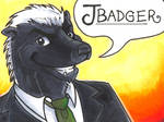 Conbadge -- Jbadger