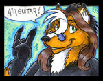 Conbadge -- AirGuitar