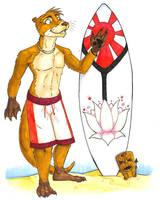 'Ottah Surfer by dani-kitty