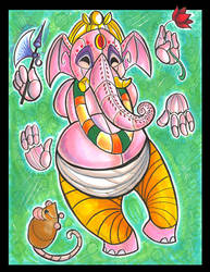 Mechanical Ganesh by dani-kitty