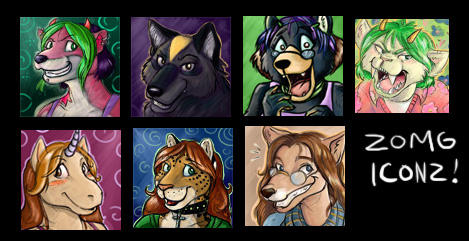 ZOMG ICONS by dani-kitty
