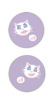 Dani-kitty buttons