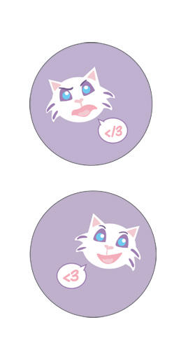 Dani-kitty buttons by dani-kitty