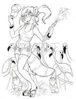 BltK -- Flamingo Rancher by dani-kitty