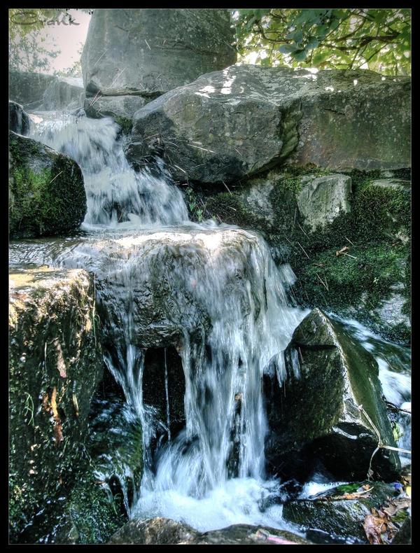 little Waterfall by Crank0
