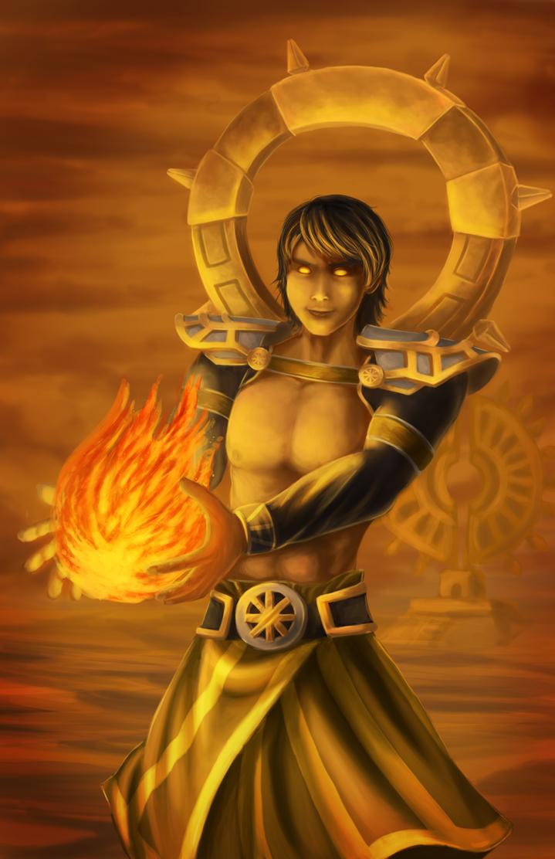 Moon Hunters -Sargon (Sun Cultist) by tobias-sama