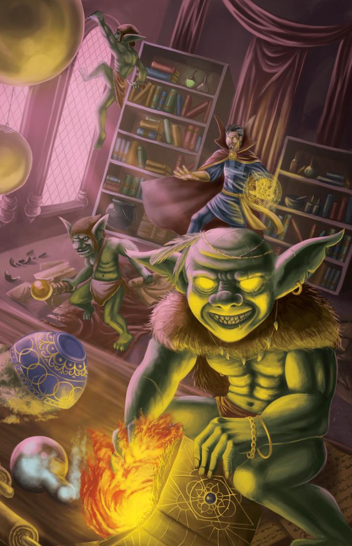 Goblins being goblins by tobias-sama