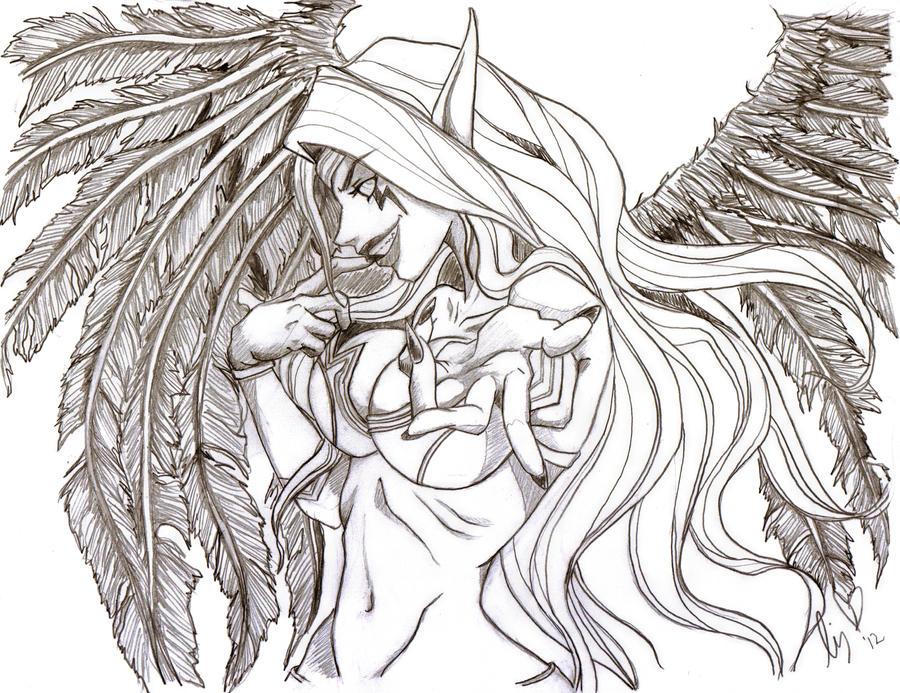 Morgana by Kirintheunicorn