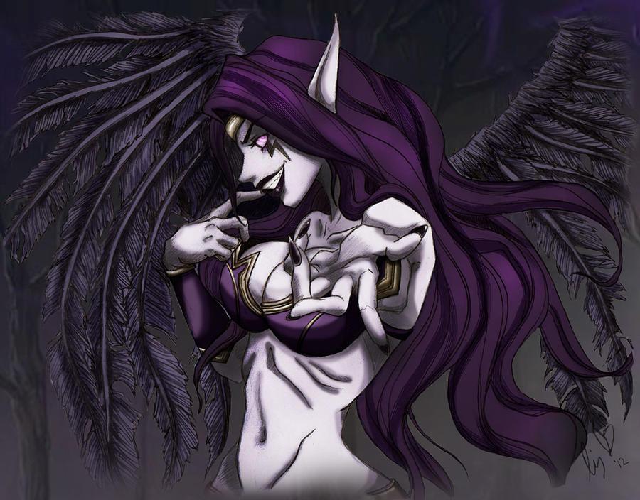 Morgana (colored) by Kirintheunicorn