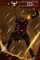 Kamen Rider G3-X Mass-produced by lamchunhin
