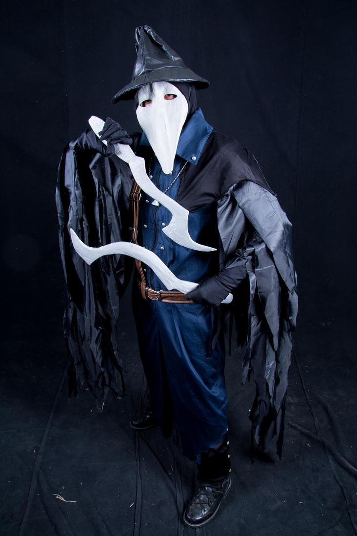 Crow feather set by YuChiZurU