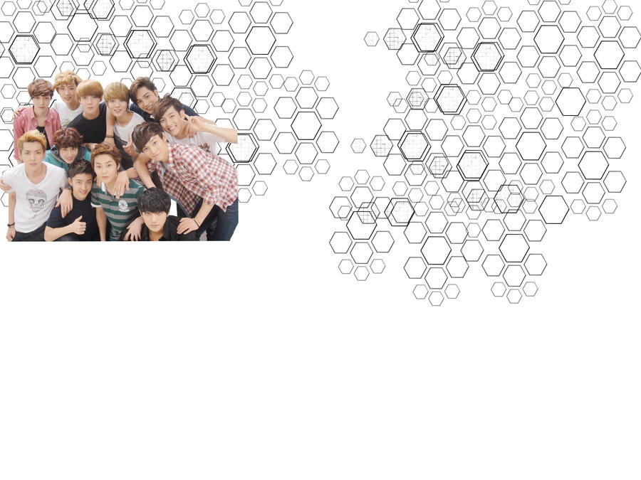 EXO twitter background by ansherine94