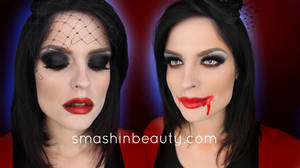The Bride Of Dracula Vampire Halloween Makeup