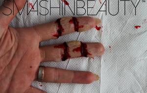 Cut Finger SFX Makeup Halloween Makeup Tutorial by smashinbeauty