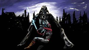 Shaak Ti and Vader