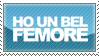 Stamp: Ho un bel femore by BIGf00t