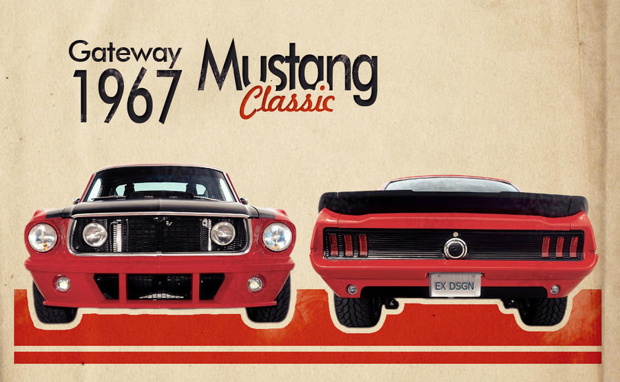 Mustang Classic by expansiver