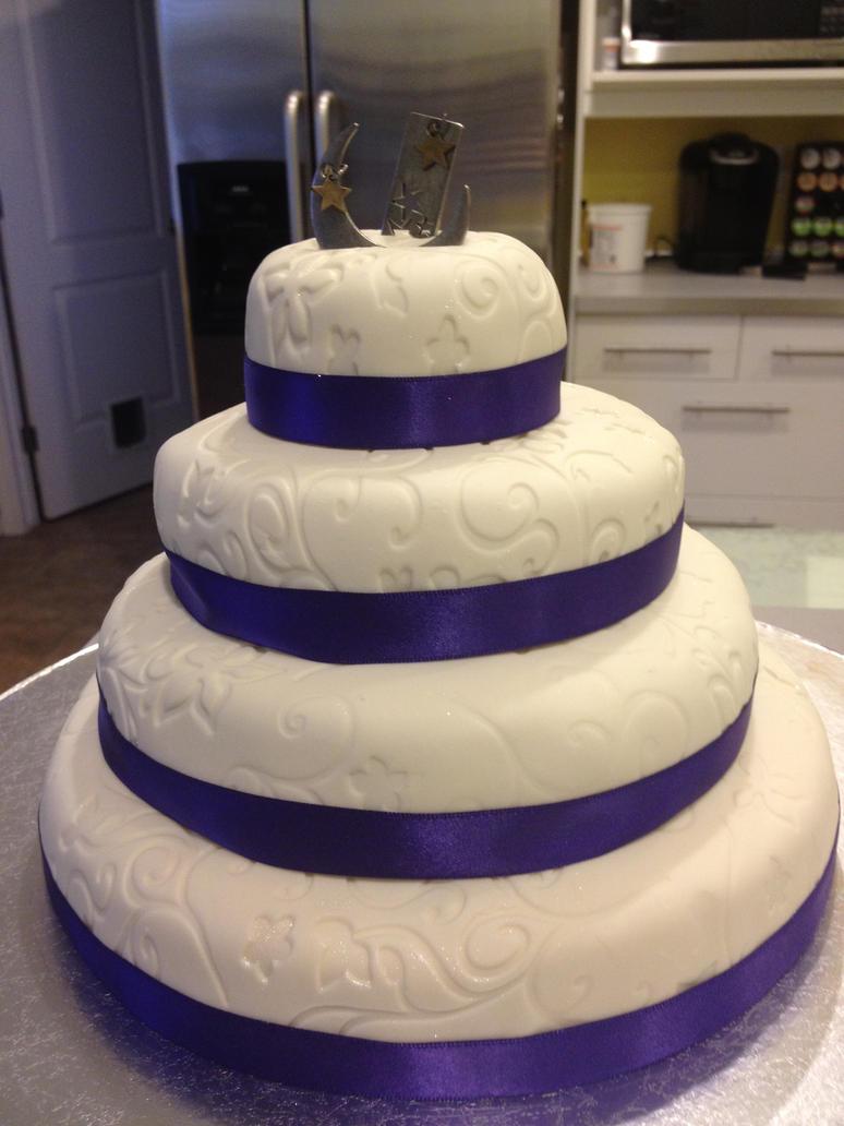Miniature Wedding Cake - Starry Night Full Cake by keizo27 on DeviantArt