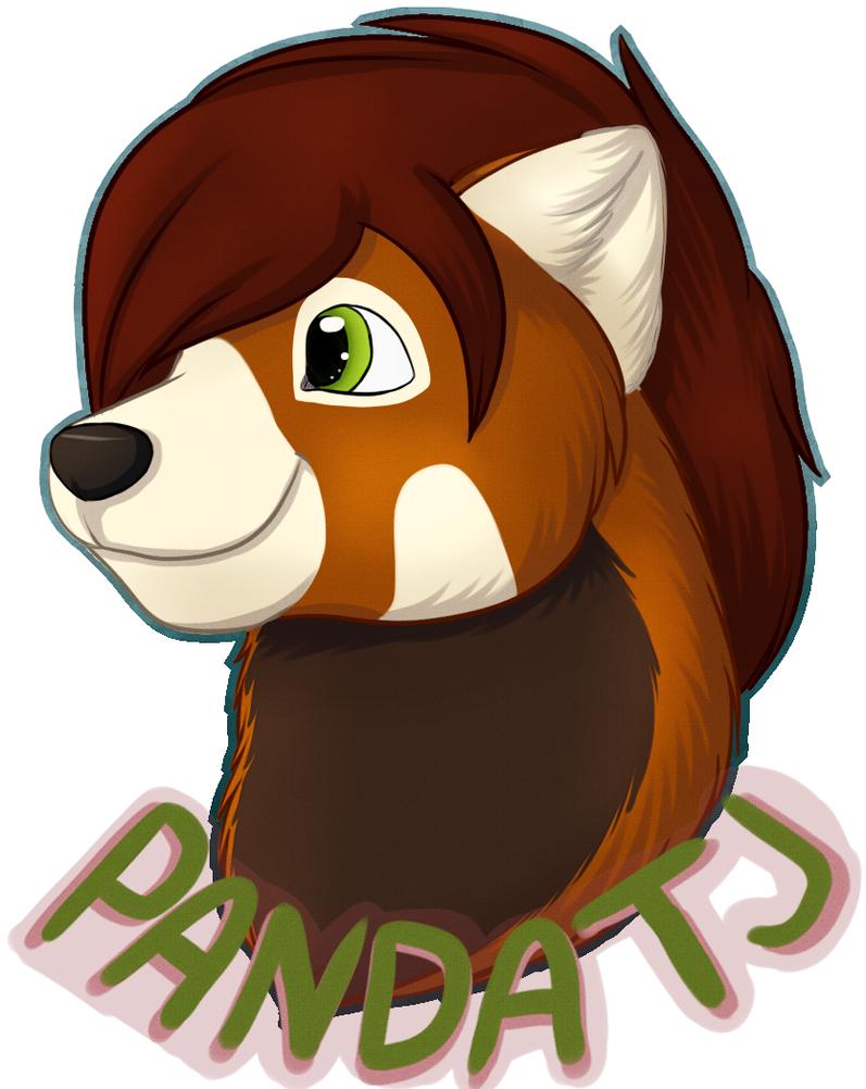 .:PC:. PandaTj Badge by Wonderlandawaitsus