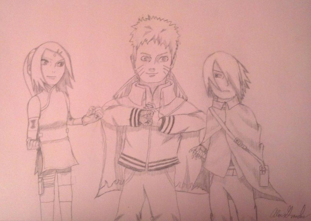 Naruto: Team 7 Adults! by Dragon-KnightGuvz19