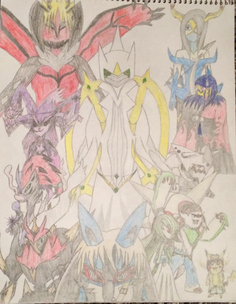 Pokemon Warriors Cover by Dragon-KnightGuvz19