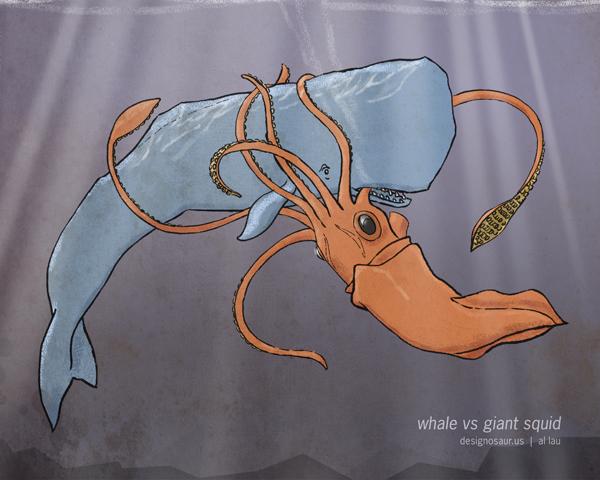 whale vs giant ...