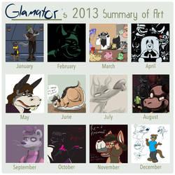 2013 Art Summary