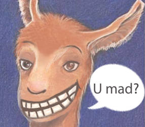 Llama: U mad? by GivePoints-GetFaves