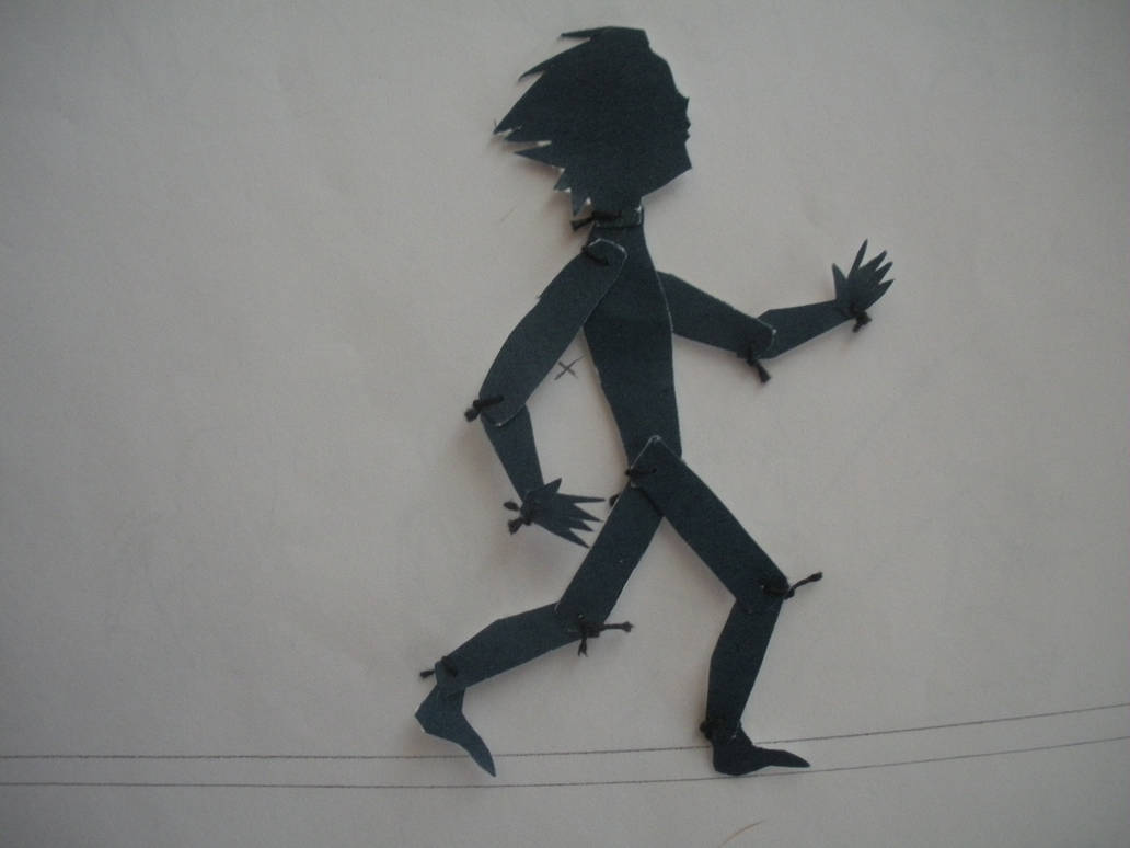 Silhouette Animation Figure by SkyPrince003
