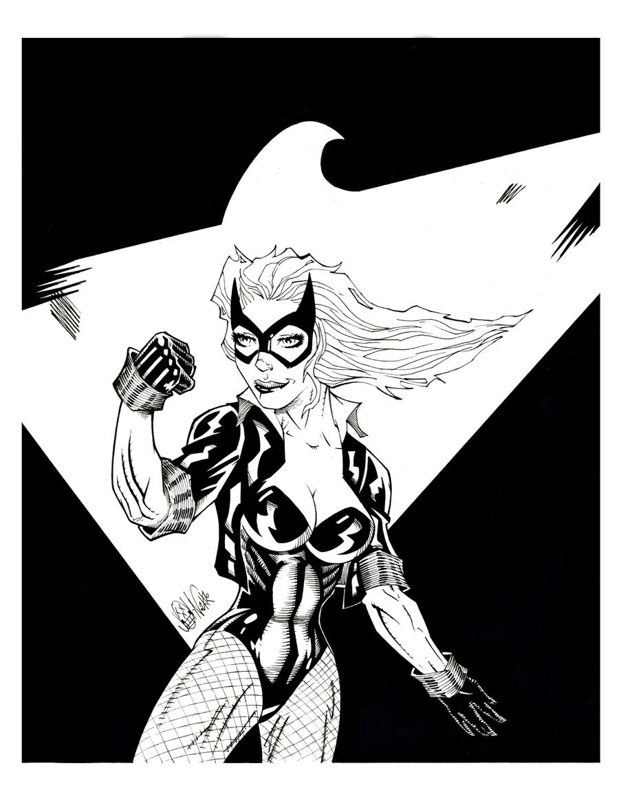 BLACK CANARY by drawhard