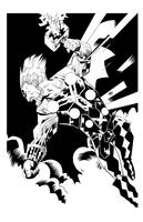 THE MIGHTY THOR by drawhard