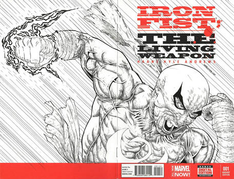 IRONFIST sketch cover