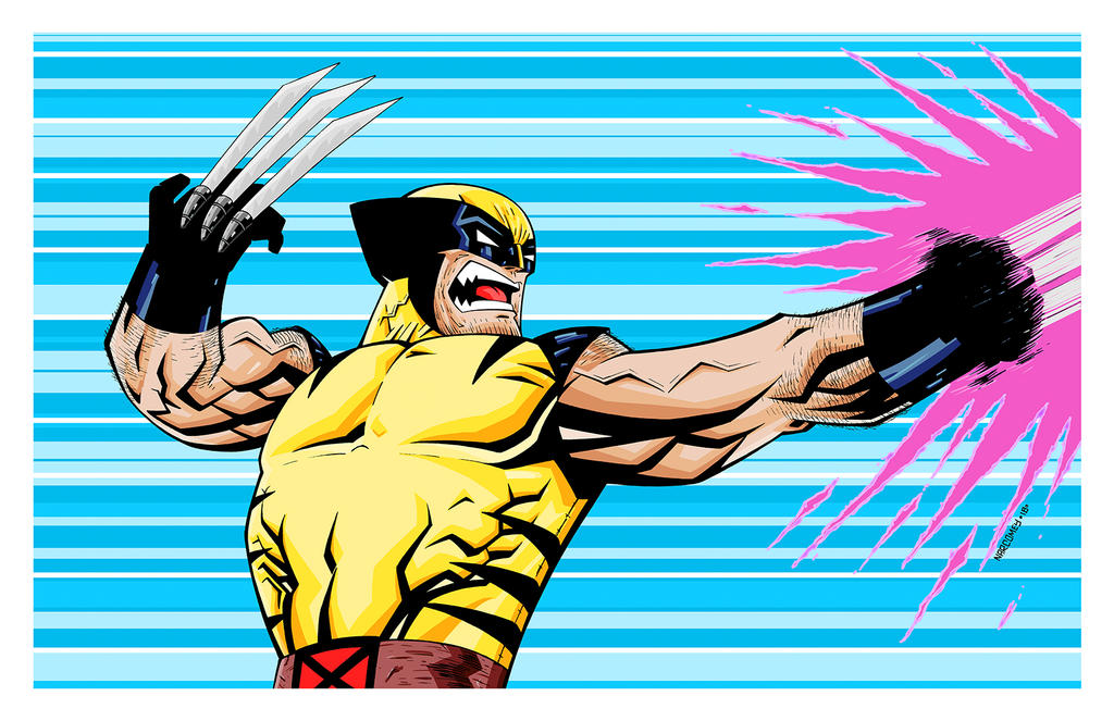WOLVERINE color by drawhard