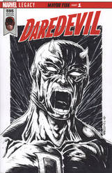 DAREDEVIL sketch cover by drawhard