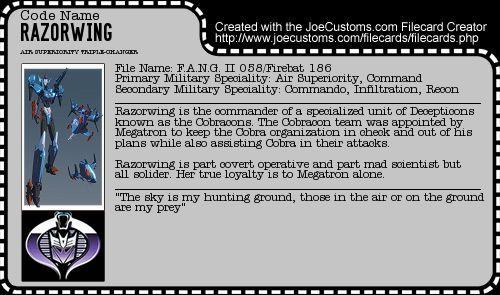Razorwing Filecard (Final) by Ravenshard82