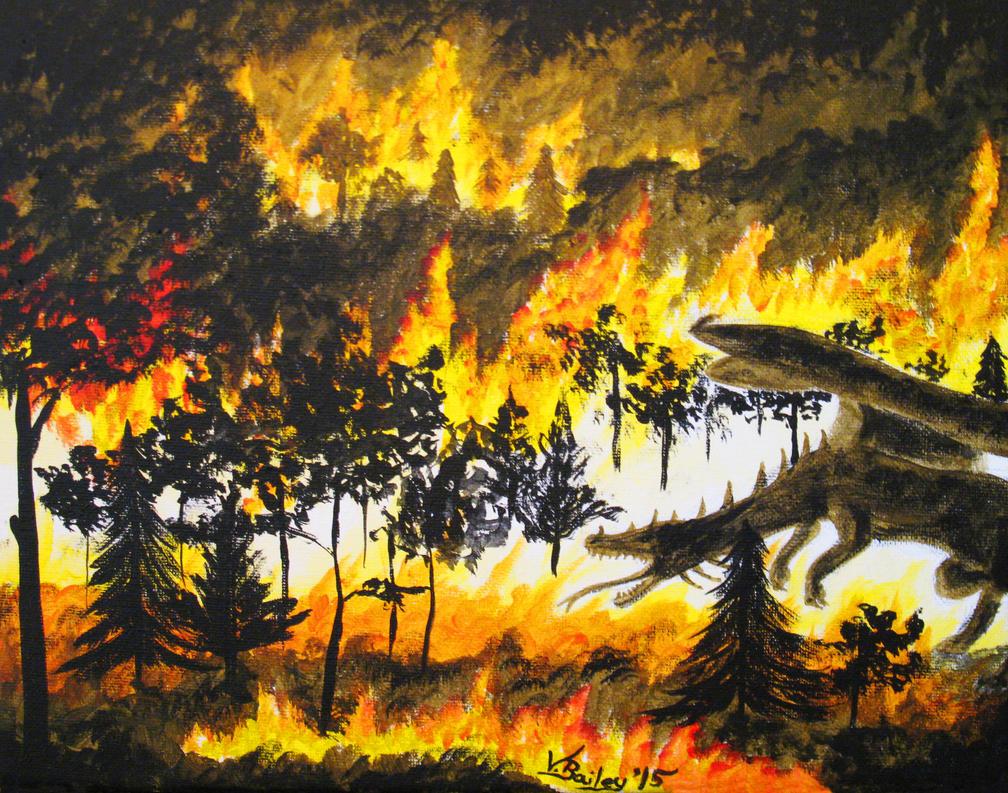 Flames by Umberink